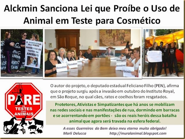 Alckmin Sanciona Lei que Proíbe o Uso de
