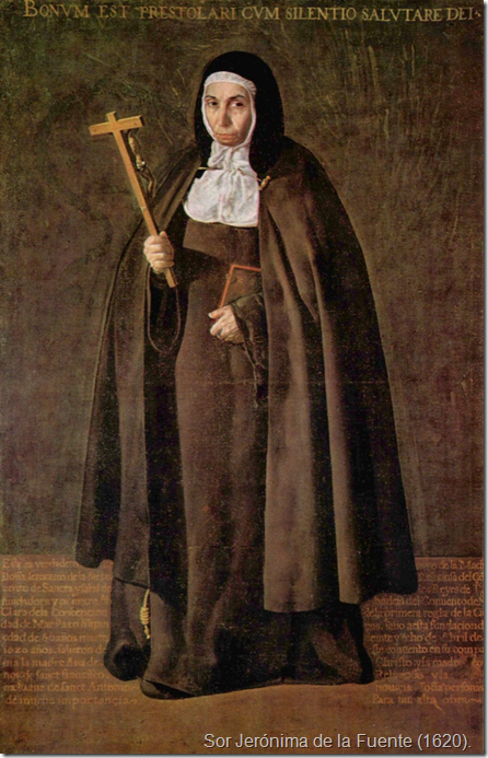 Sor Jerónima de la Fuente (1620).
