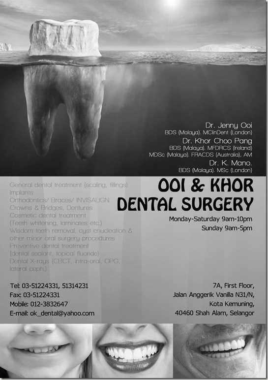 Ooi & Khor Dental Surgery ad editted