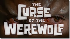 Curse of the Werewolf Title