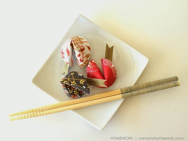 Chinese New Year Paper Fortune Cookies via homework  | carolynshomework (6)