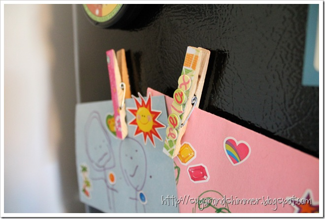 Clothespin Magnets 2