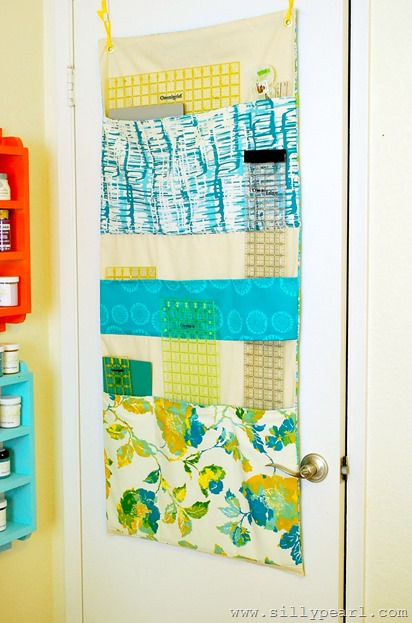 Fabric Ruler Organizer