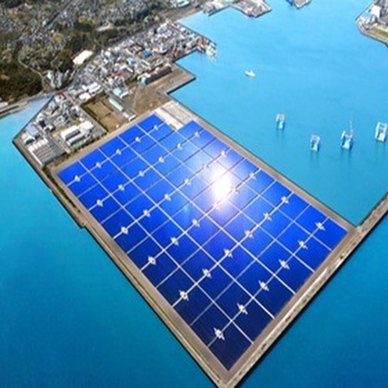 Multinacionales proyectan la mayor planta de energía solar en Japón