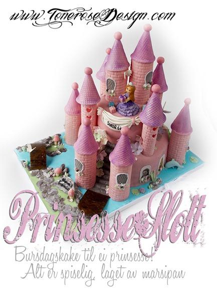 IMG_4602 prinsesseslott bursdagskake jente