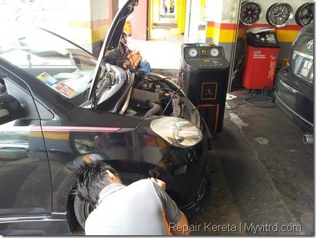 Repair aircond myvi 3