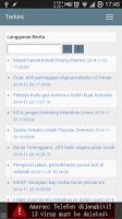 Screenshot of Terkini - Berita Malaysia