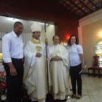 Celebração do Crisma de jovens e adultos com visita de Dom Estevão à Paróquia São Francisco de Assis