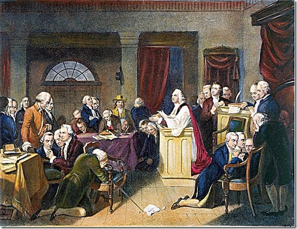 1st Continental Congress Prayer