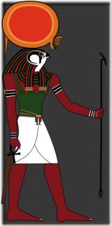 Hòrus ou Rá, o deus sol na cultura egípcia - Priscila e Maxwell Palheta