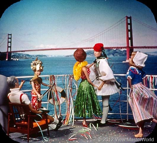 View-Master Barbies Around the World Trip (B500), Scene 21