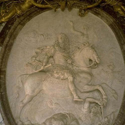 43 - Coysevox - Relieve ecuestre de Luis XIV