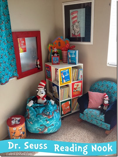 Dr-Seuss-Reading-nook-obSEUSSed day