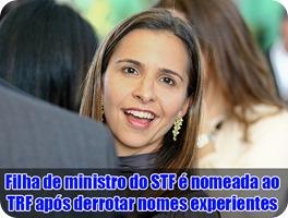 filha do ministro do stf