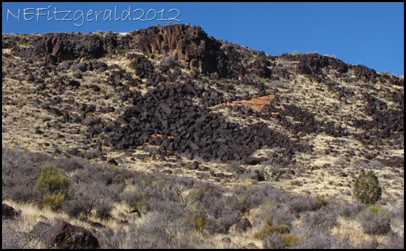 IMG_0686Basalt FlowObscures NavajoSandstone