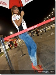 Paddock Girls Commercialbank Grand Prix of Qatar  08 April  2012 Losail Circuit  Qatar (6)