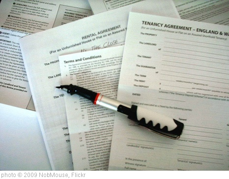 'Contracts' photo (c) 2009, NobMouse - license: http://creativecommons.org/licenses/by/2.0/