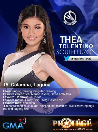 Protégé - Thea Tolentino
