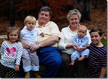 Grandparents and kids 1