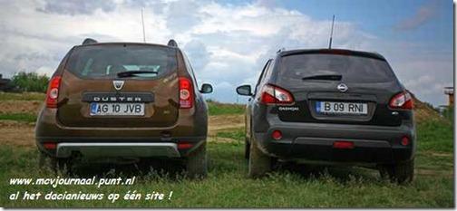 Dacia Duster vs Nissan Quashqai 03