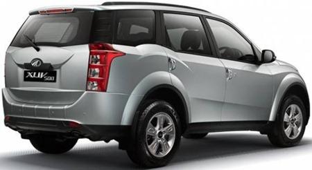 Mahindra XUV500 rear
