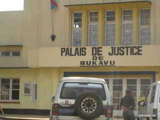 Palais de justice de Bukavu.