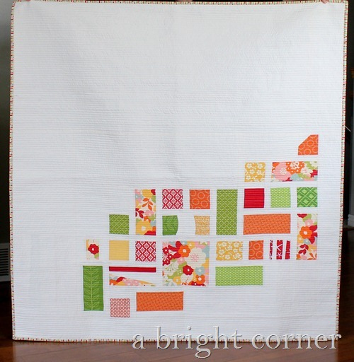 Community- modern quilt from A Bright Corner