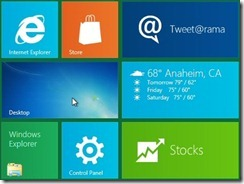 Desktop on Windows 8