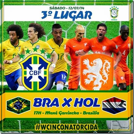 WCINCO - FINAIS - SABADO - BRASIL - HOLANDA