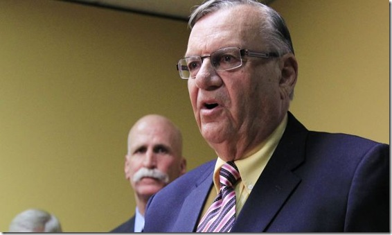 Joe Arpaio 4-3-12