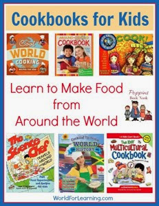 cookbooks for kids from World of Learning