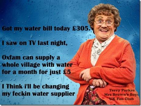 oxfam water supplier