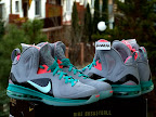 nike lebron 9 ps elite grey candy pink 7 13 LeBron 9 P.S. Elite Miami Vice Official Images & Release Date