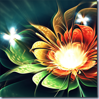 3D Apophysis Flowers