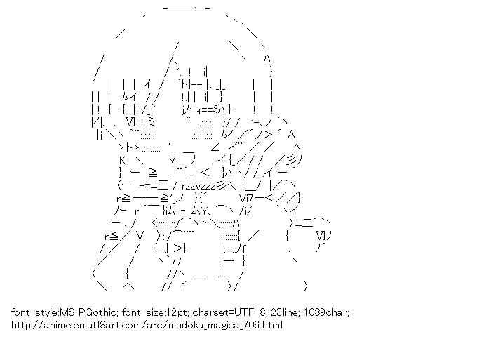 [AA]Tomoe Mami (Puella Magi Madoka Magica)