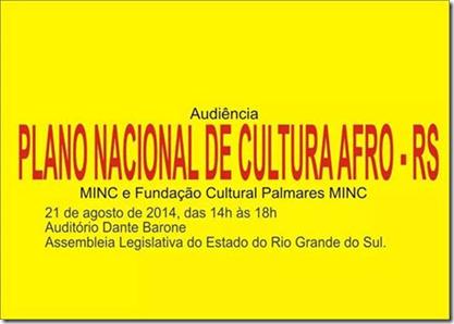 plani setorail de cultura afro