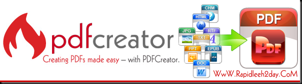 PDFCreator - The free PDF Creator and Converter