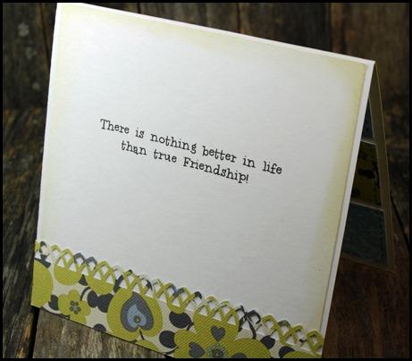 Sassy Cheryl's Stamps, True Friendship