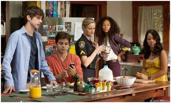 The cast of THE FOSTERS.