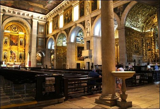 Gloria Ishizaka - Igreja de Sao Roque - interior