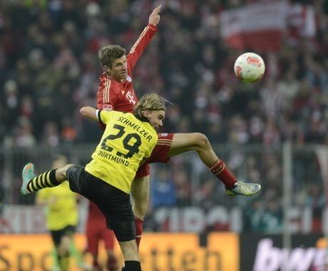 Hasil Pertandingan Bayern vs Dortmund Liga Jerman Minggu 2 Desember 2012