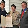 Eagle Scout Matthew Dambra