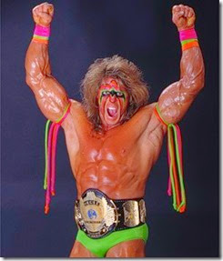 A Superhero of wrestling The Ultimate Warrior