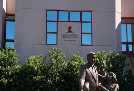ST Jude Statue Memphis