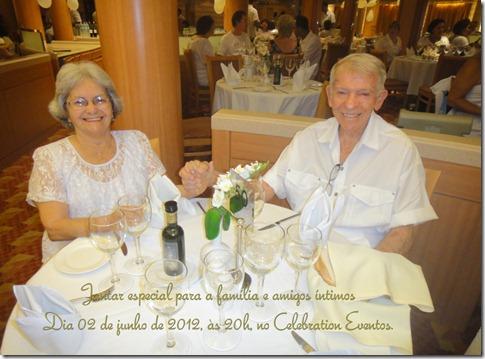 Convite Jantar Bodas 1