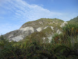 Gunung Ambang crater cliffs walls (Dan Quinn, February 2013)