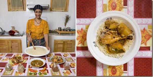 Portraits de grand-mères et leurs plats cuisinés (21)