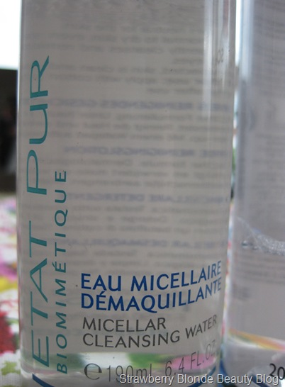 Etat Pur Micellar Cleansing Water