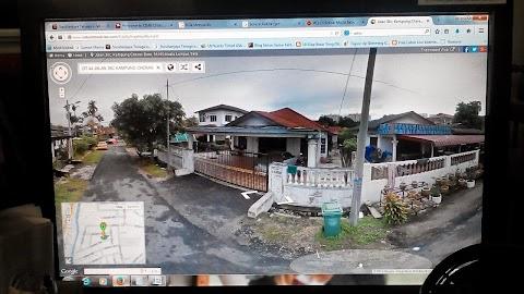 Tengok kampung secara online sahaja