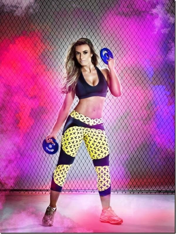Nicole Bahls mostra corpão em mais um catálogo de moda fitness (3)